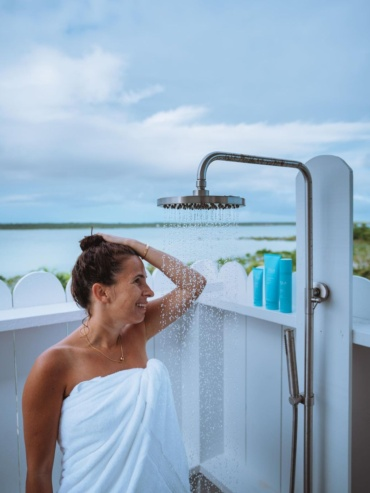 the ultimate outdoor shower